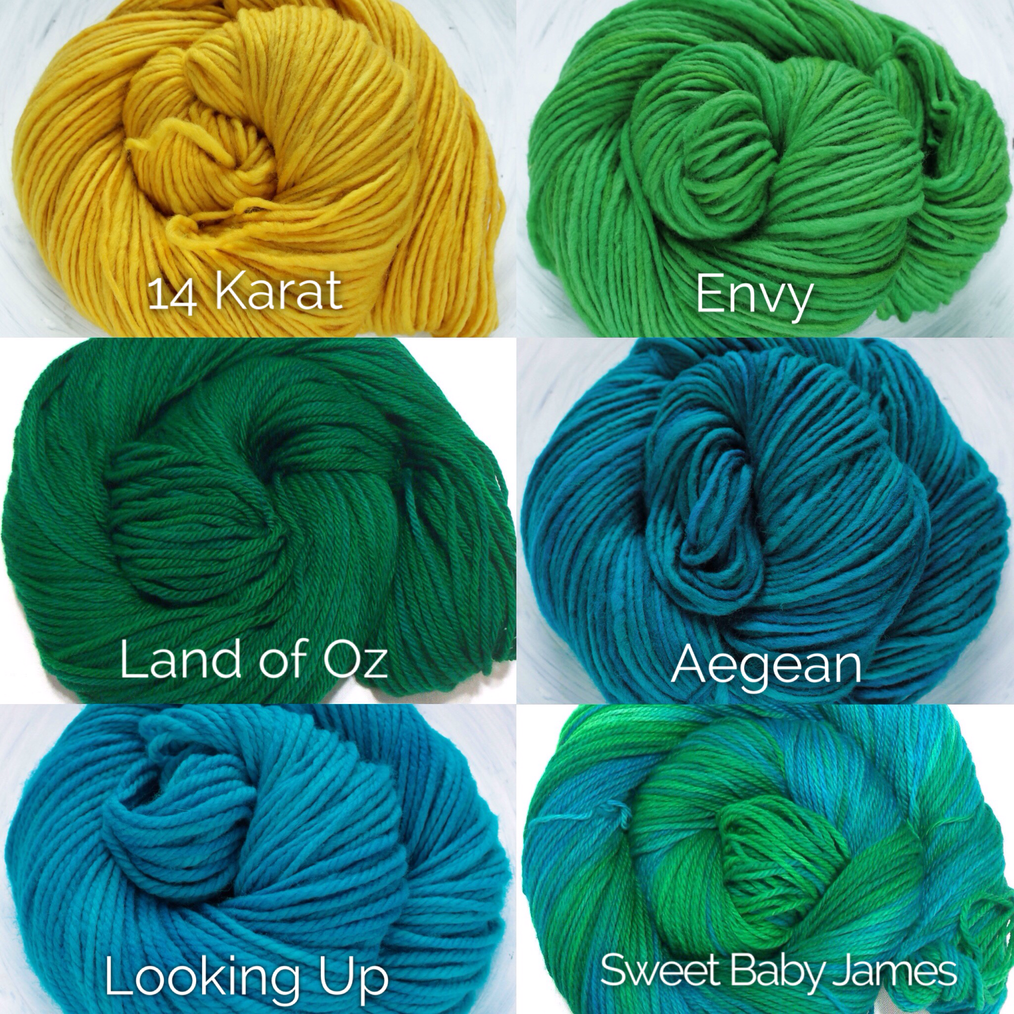 Dye-to-order selection